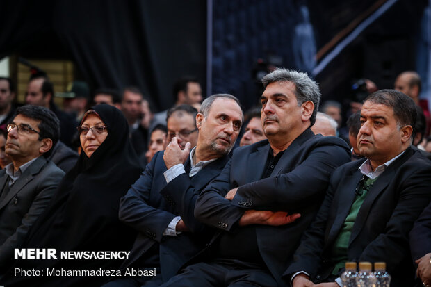 مراسم افتتاح و بهره برداری از پروژه های مدیریت بحران شهر تهران