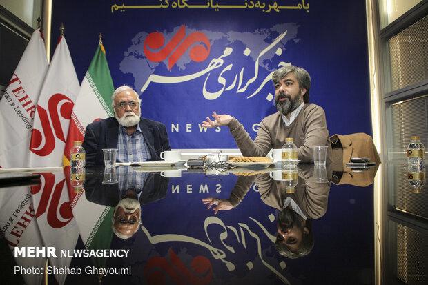 گفتگو با حامد عنقا و غلامرضا موسوی