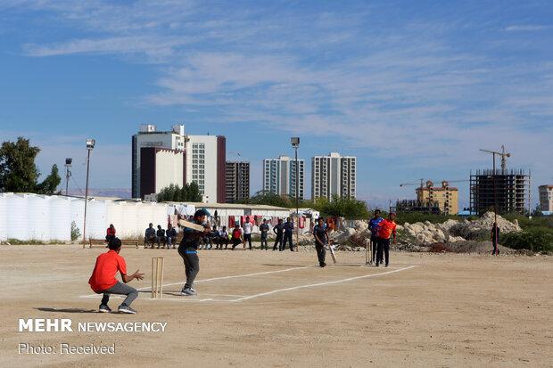 جشنواره بازیهای بومی محلی کارگران هندی در کیش
