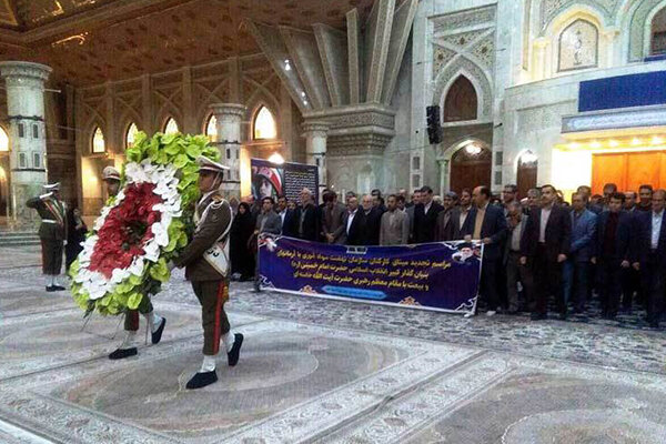 تجدیدمیثاق مدیران وکارکنان نهضت سوادآموزی باآرمانهای امام خمینی