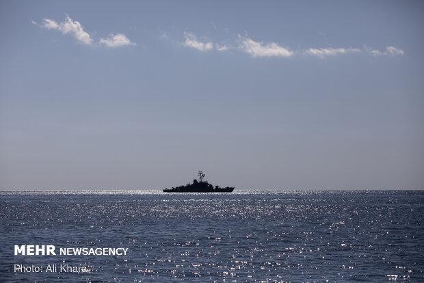 İran, Çin ve Rusya'nın ortak deniz tatbikatından fotoğraflar