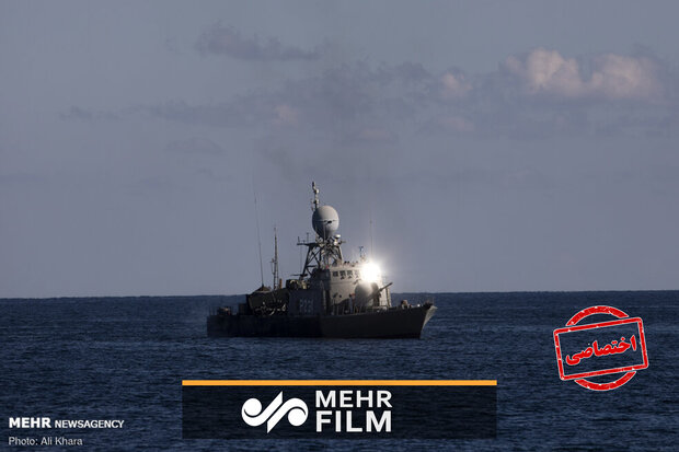 VIDEO: Iranian, Russian, Chinese flotillas fire at maritime targets