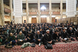 مسجد حضرت امام صادق (ع) میں 9 دی کی مناسبت سے تقریب منعقد