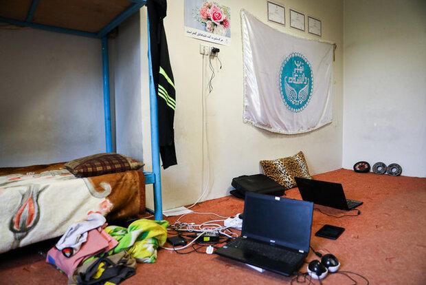 بررسی وضعیت اتاق های دانشجویی در خوابگاههای دانشگاه تهران