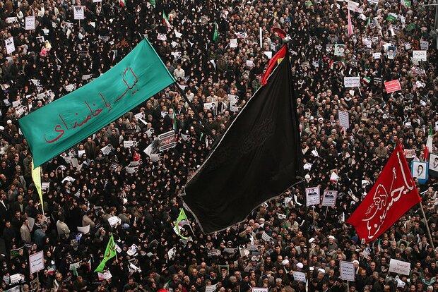 İran'da bugün fitnecilere karşı halk gösterilerinin yıldönümü