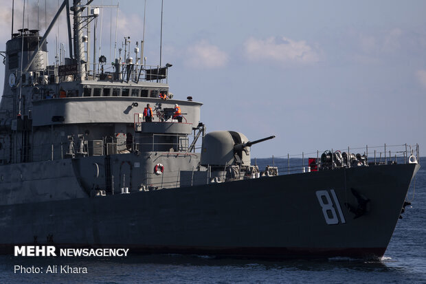 3rd day of trilateral joint naval drill between Iran, Russia, China terminates