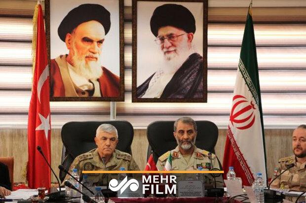 ایران اور ترکی کے سرحدی کمانڈروں کا مشترکہ اجلاس