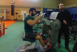 پیگیری روند درمانی علیرضا کریمی در اردوی تیم ملی