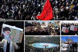 تجمع باشکوه ۹ دی در استانهای مختلف کشور/ مردم و مسئولان چه گفتند؟