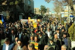 حضور الشعب الإيراني على الساحة أثار سخط الأعداء