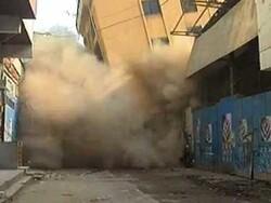 کراچی میں 6 منزلہ عمارت زمیں بوس ہوگئی