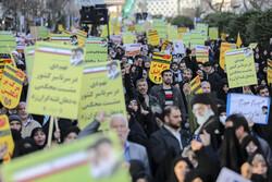 تہران میں 9 دی کی مناسبت سے عوامی اجتماع