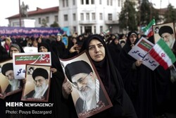 pro-Islamic Republic rallies