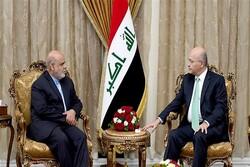 Barham Salih stresses strengthening Iran,Iraq ties
