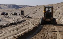 عملیات اجرایی ایستگاه راهآهن خاوران آغاز شد