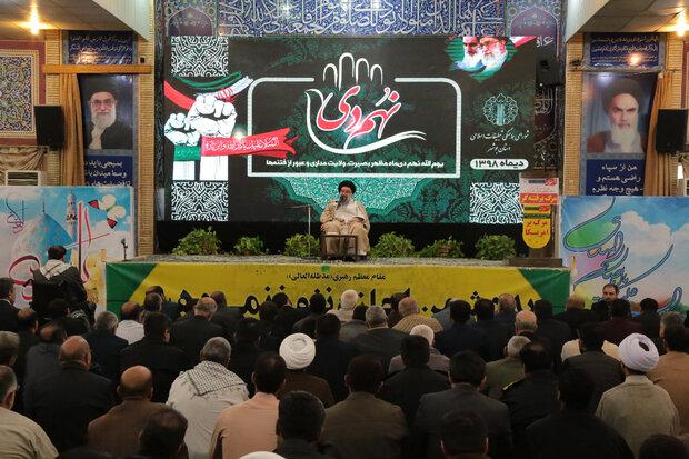 توطئههای آمریکا شکست خورده است/ ملت ایران خسته نمیشود