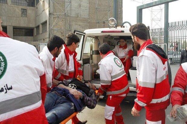 ۱۱۳ حادثه دیده در استان اردبیل امدادرسانی شدند