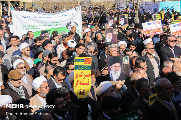 Dey 9 Epic commemorated in Semnan Province