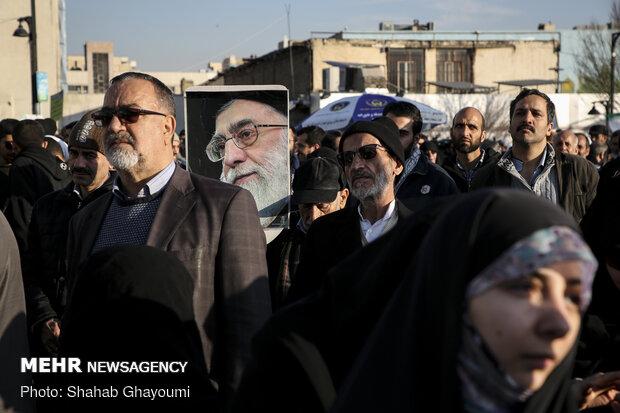 بزرگداشت «حماسه ۹ دی» در تهران