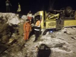 زنجان اور تبریز ہائی وے پر ٹریفک حادثے میں 9 افراد جاں بحق