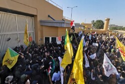 VIDEO: US embassy in Baghdad surrounded by angry protesters
