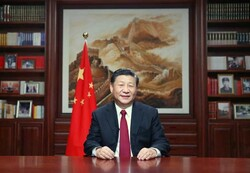 چینی صدر کی کورونا وائرس سے متاثرہ مریضوں کی عیادت