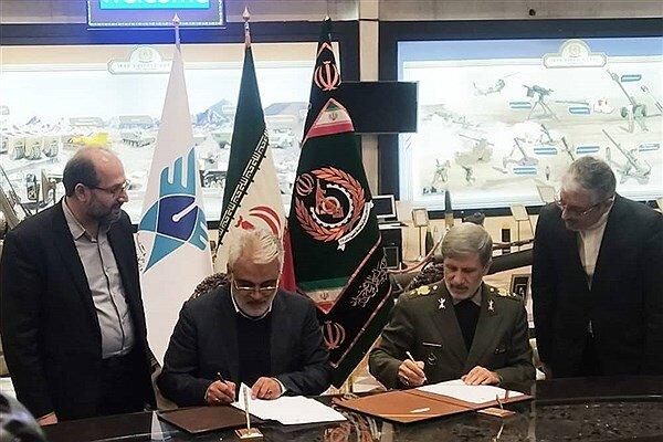 وزارت دفاع با دانشگاه آزاد تفاهم نامه همکاری منعقد کرد