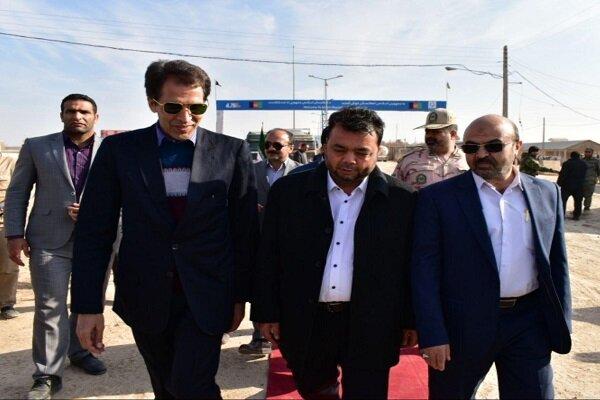 افتتاح بازار مبادلات مالی وتجاری ایران و افغانستان در مرز دوغارون