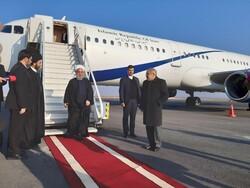 اردبیل میں صدر روحانی کا باقاعدہ استقبال