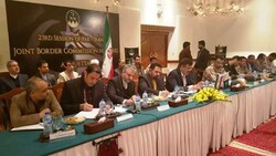 Iran, Pakistan hold joint border commission meeting