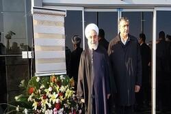 Pres. Rouhani inaugurates Ardabil Airport Terminal 1