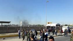 تواصل الاحتجاجات أمام السفارة الأمركية في العراق