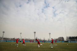 ریکاوری بازیکنان اصلی تیم فوتبال امید بعد از بازی با ازبکستان