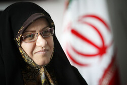 Farahnaz Rafe', the new director of Iran's National Carpet Center