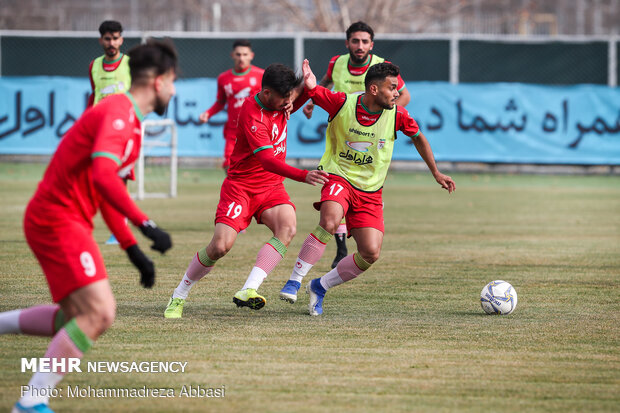 Iran U23 last training session before departing for Thailand