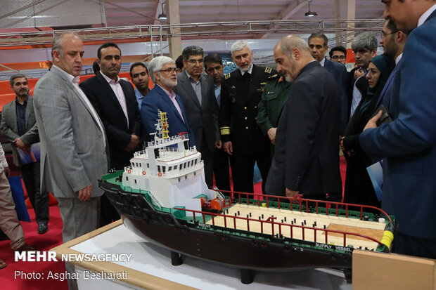 21st marine industries exhibition on Qeshm Island