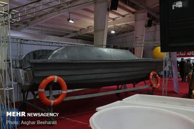 افتتاح بیست و یکمین نمایشگاه صنایع دریایی و دریانوردی