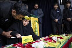 مراسم تشییع شهید مدافع حرم  محمدجعفر حسینی