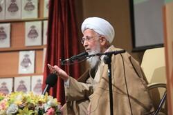 قم میں مرحوم آیت اللہ محقق داماد کی یاد میں تقریب منعقد