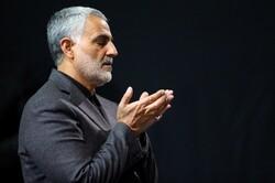 قاسم سليماني يسأل الله ان ينال الشهادة
