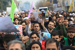 VIDEO: People  hold rally in Qom to condemn assassination of Gen. Soleimani