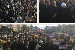 تظاهرات محکومیت اقدام جنایتکارانه آمریکا در استان تهران برگزار شد
