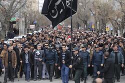 تظاهرات و عزاداری مردم استان تهران در پی شهادت سردار سلیمانی