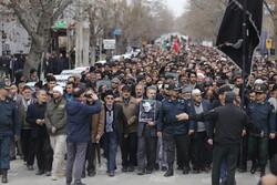راهپیمایی مردم همدان در محکومیت اقدام تروریستی آمریکا