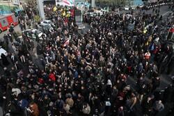 VIDEO: Protesters condemn assassination of IRGC Commander of Quds Brigade Gen. Ghasem Soleimani