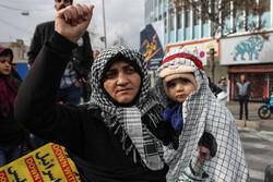 راهپیمایی مردم شیراز در پی شهادت سردار سپهبد حاج قاسم سلیمانی