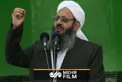 مولوي عبدالحميد يعزي باستشهاد قاسم سليماني