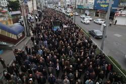 راهپیمایی مردم آمل در پی شهادت سردار سپهبد حاج قاسم سلیمانی