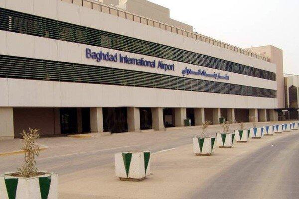 اصابت سه فروند راکت به محدوده مجاور فرودگاه بین المللی بغداد