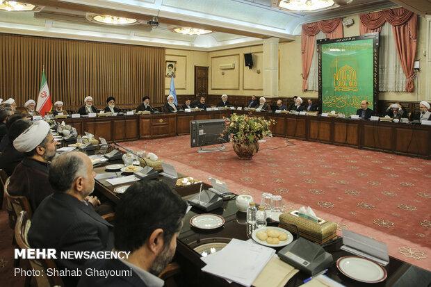 نشست روسای کل دادگستری و دادستانهای مراکز استانها با رئیس قوه قضائیه